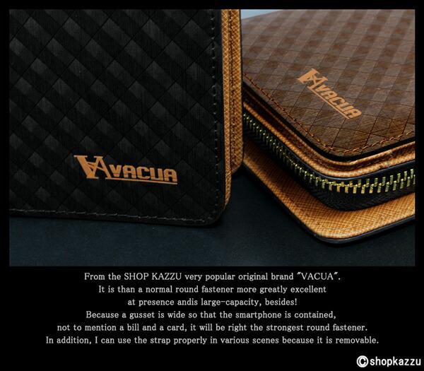 長財布 メンズ 牛床革 スペインレザー 多機能 ラウンドファスナー VACUA (2色) 【VA-010M】イメージ写真3