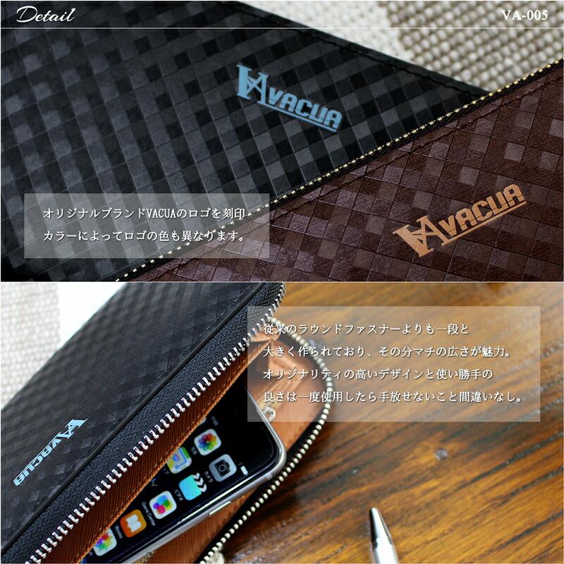 財布 メンズ men's wallet 長財布 二つ折り サイフ レザー ブランド 軽量 出張 人気