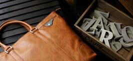 ビジネスバッグ メンズ A3サイズ 大容量 ツートンカラー 2WAYバッグ DIABLO (4色)
