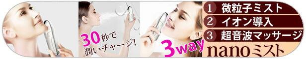 ミスト 美顔器 マッサージ イオン 携帯 保湿 乾燥