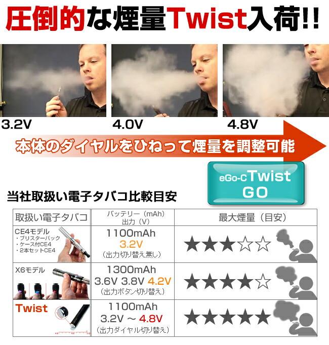 電子タバコ ego-c Twist