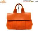 Valparaiso PM toirschebron VOR swift brick Orange canvas tote bag used