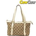 141471 GUCCI gucci GG canvas mini-tote bag beige