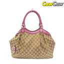 GUCCI Gucci 211944 sukey GG canvas tote bag used