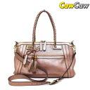 GUCCI Gucci 282300 Bella bamboo tassels 2WAY shoulder Tote Bag baby pink