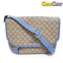 GUCCI Gucci GG 201732 plus star shoulder bag blue
