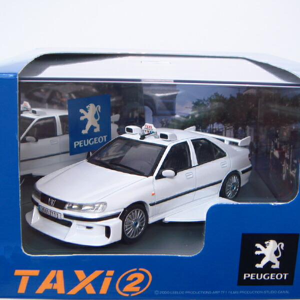 aoshima skynet peugeot 406 taxi 2 version 1 43 ebay. Black Bedroom Furniture Sets. Home Design Ideas