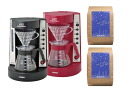 HARIO V60 coffee maker EVCM-5 (for 2 to 5 teaspoons) and with two types of coffee beans