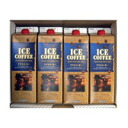 Liquid ice coffee (1 liter, sugar-free type) 4 pieces gift set.