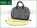 Louis Vuitton 2006 prefall collection stamped-bag GM handbag gray LVMH Louis-Vuitton only Luxury Brand Selection