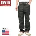 Levi's Vintage Clothing 1919 s spring denim pants MADE IN USA [BLACK RIGID, Levi's jeans vintage men's black Indigo 52192-0002