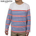 Levi's Made & Crafted tricolor long sleeved shirt [WHITE/RED/BLUE] Levis mens LVC