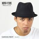 NEW YORK HAT Canvas Rexy (New York Hat campus Lexi cotton Hat Black mens ladies Hat 3105)