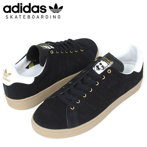 Adidas Stan Smith Black Gum Sole