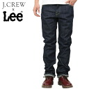 "J.CREW j.crew x Lee Lee 101B straight denim pants [RINSE WASH""jeans リンスウォッシュメンズ vintage"
