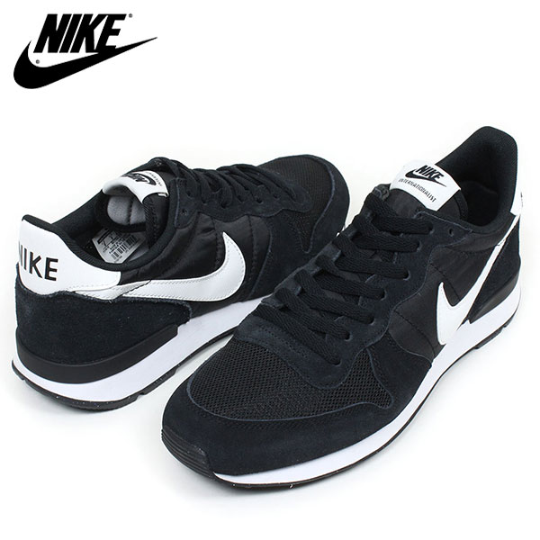mens nike internationalist black