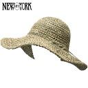NEW YORK HAT Sea Grass Floppy (for women women's straw hat straw hats awning, New York Hat natural of seagrass floppy #7116) 10P06jul13