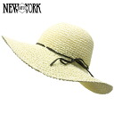 NEW YORK HAT Toyo Swinger (shade ladies ivory straw hat ladies, New York Hat straw hat of トーヨースインガー #7139)