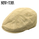 NEW YORK HAT Suede 1900 (New York Hat Tan suede Cap mens Womens Hat #9233)