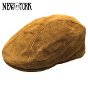 NEW YORK HAT Suede 1900 (New York Hat suede Cap last hat in men's women's #9233)