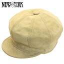 NEW YORK HAT Suede Spitfire (New York Hat suede Tan casket mens Womens Hat #9260)