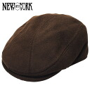 NEW YORK HAT Wool 1900 (the Brown mens Womens Hat New York hats wool hunting tea #9003) 10P10Nov13