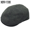 NEW YORK HAT Wool 1900 (the charcoal grey mens ladies hats New York hats wool hunting ash #9003)