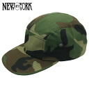 NEW YORK HAT Camo Camp Cap (the men's Made in USA New York Hat Camo camp Cap Woodland Camo camouflage #6068)