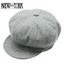 NEW YORK HAT Wool Spitfire [GREY] (New York hat wool pit fire gray casquette men gap Dis hat Made in USA #9055)