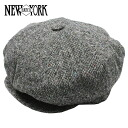 NEW YORK HAT Tweed News Boy (the men's Made in USA New York Hat Tweed news boy Hooray hunting #9030)