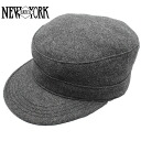 NEW YORK HAT Solid Private (New York Hat wool Cap grey mens Womens hats Made in USA #9407)