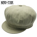 NEW YORK HAT Canvas Spitfire (the khaki mens ladies Hat hats New York canvas cotton newsboy #6216) 10P10Nov13