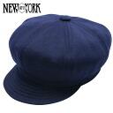 NEW YORK HAT Sweatshirt Spitfire (the Navy men's women's hats New York Hat sweat cotton newsboy #6014)