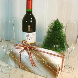 クリスマス用コンビ包装紙