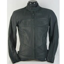 Allen Ness leather jacket LJ-10252-AN BLACK