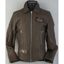 ARLEN NESS RIDERS LEATHER JACKET LJ-10204-AN BROWN