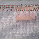 2 Frilly & floral motifs of the original gather racing white and 5 yards (total 2 colors) Deco also