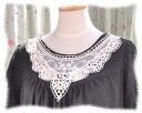Antique otogitic so cute! tulle lace collar