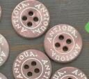 가격 ↓ 포탄 단추 지름 1.8 ㎝ 10 개의 골동품