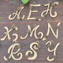 Price ↓ initials charm 3 piece set antique gold * alphabet!