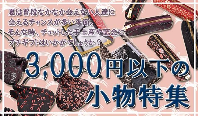 3000円以下の小物特集