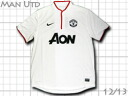 Product made in Manchester United 12/13 away (white) nike