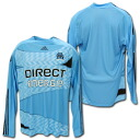 : Marseille players for 2009 / 2010 away long sleeve manufactured by adidas FORMOTION