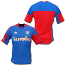 FC Tokyo 2012 home (red blue) made by adidas