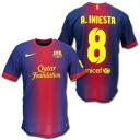 FC Barcelona 12 / 13 home # 8 A.INIESTA Iniesta Nike
