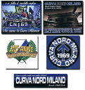 Intel supporters: ultras clebanold official sticker / 5 pieces = 1 set