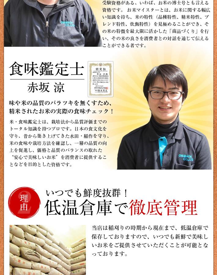 農産物検査員、お米マイスター、お米のソムリエ食味鑑定士のお米のプロが千葉県産の美味しいお米をお届けします。
