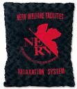 에반게리온 신 극장 판 로즈 헤드 쿠션 NERV ver2 [블랙/레드] 에반게리온 상품 르 프 エヴァンゲリヲン
