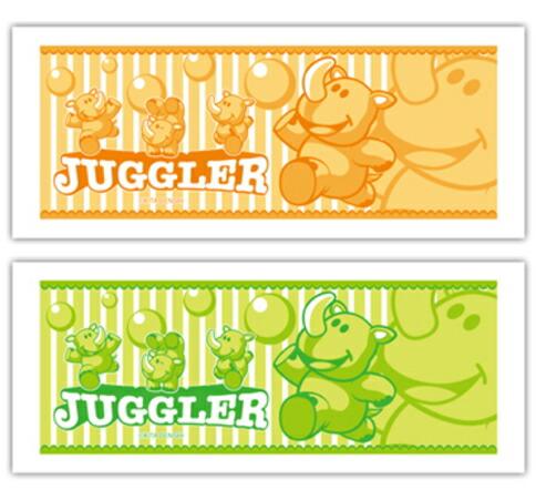 ジャグラー 【フェイスタオル】 パチンコ・パチスロキャラクターグッズ通販のPエンタメストア