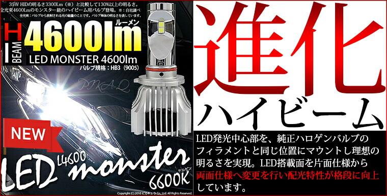 LEDmonster L4600進化 HB3
